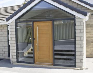 door system entrance