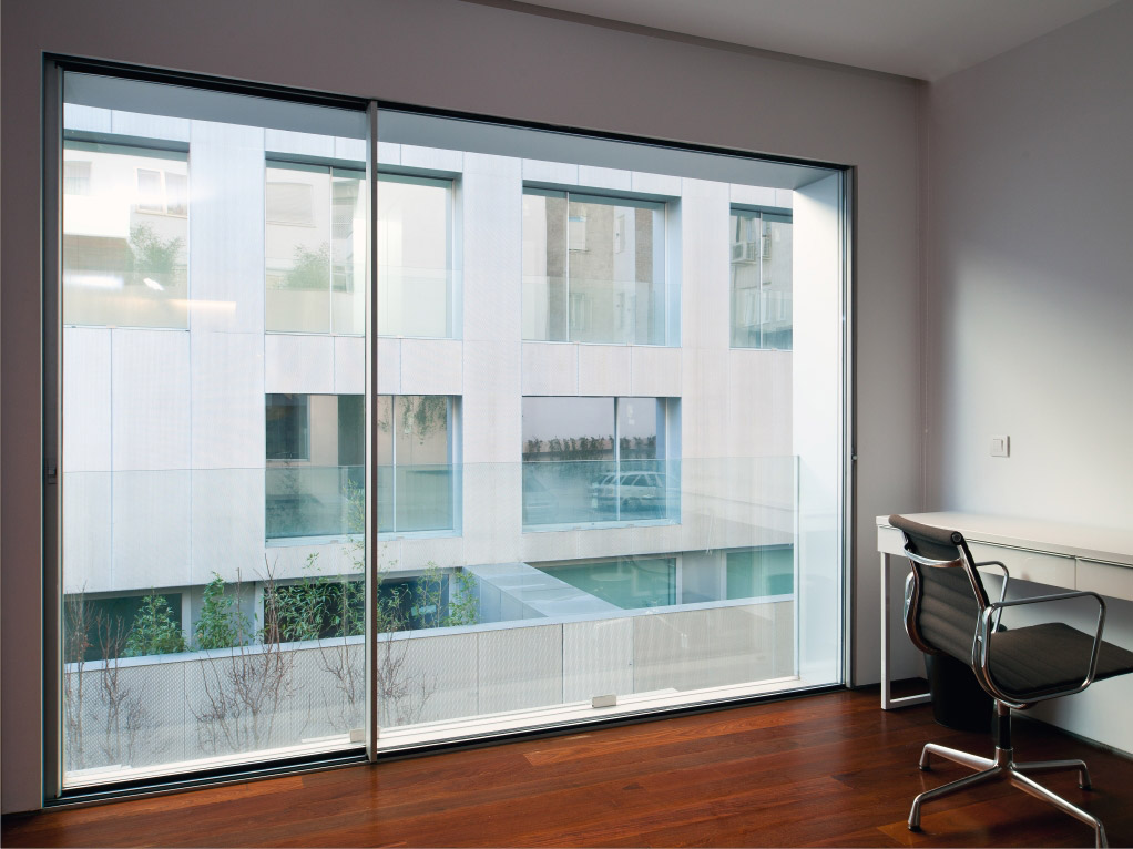 window system sliding cor vision