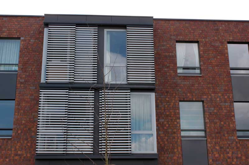 Shutter outdoor external autmation